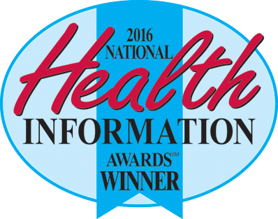 Image of the health information awards winner logo
